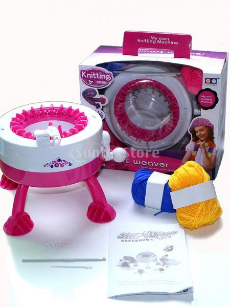 آلة طرز يدوية Machine à tricoter à manivelle2