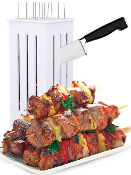Facile-Barbecue-Kebab-Maker-Viande-Brochettes-Brochette-Machine-Barbecue-Grill-Accessoires-Outils-Ensemble