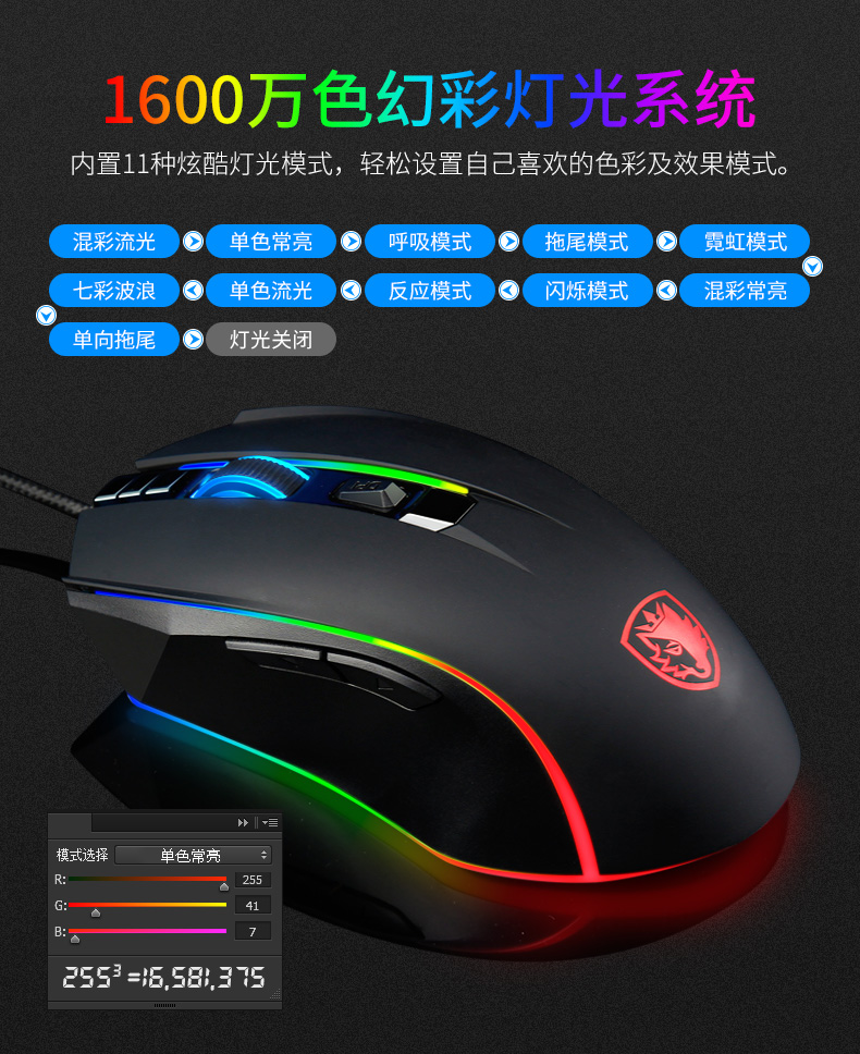 فأرة RGB