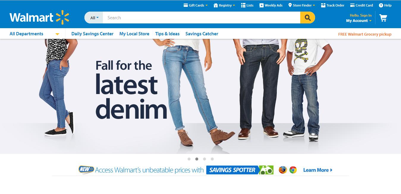 موقع والمارت Walmart