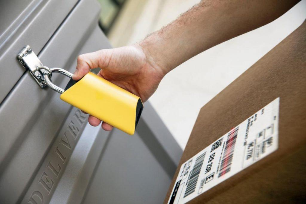 BoxLock قفل ذكي لحماية الطرود من السرقة