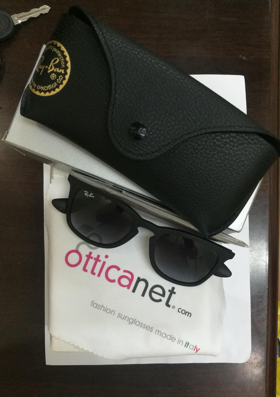 a184cf14e تجربة شراء نظارات شمسية راي بان Ray-Ban من موقع Otticanet للنظارات