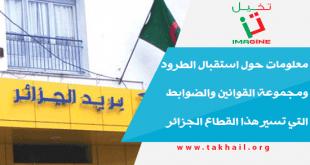 معلومات حول استقبال الطرود ومجموعة القوانين والضوابط التي تسير هذا القطاع الجزائر