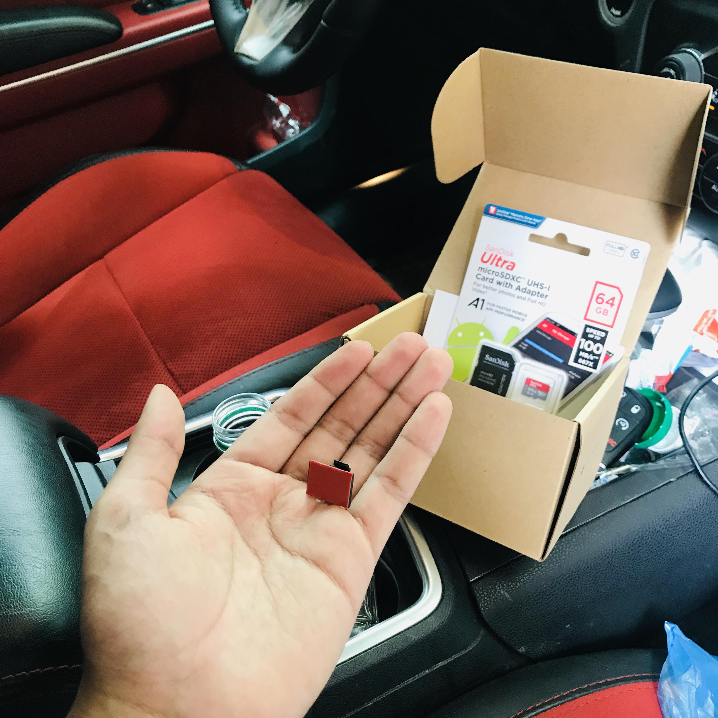 تجربة شراء كاميرة لتسجيل حوادث السيارات من موقع أمازون Amazon10