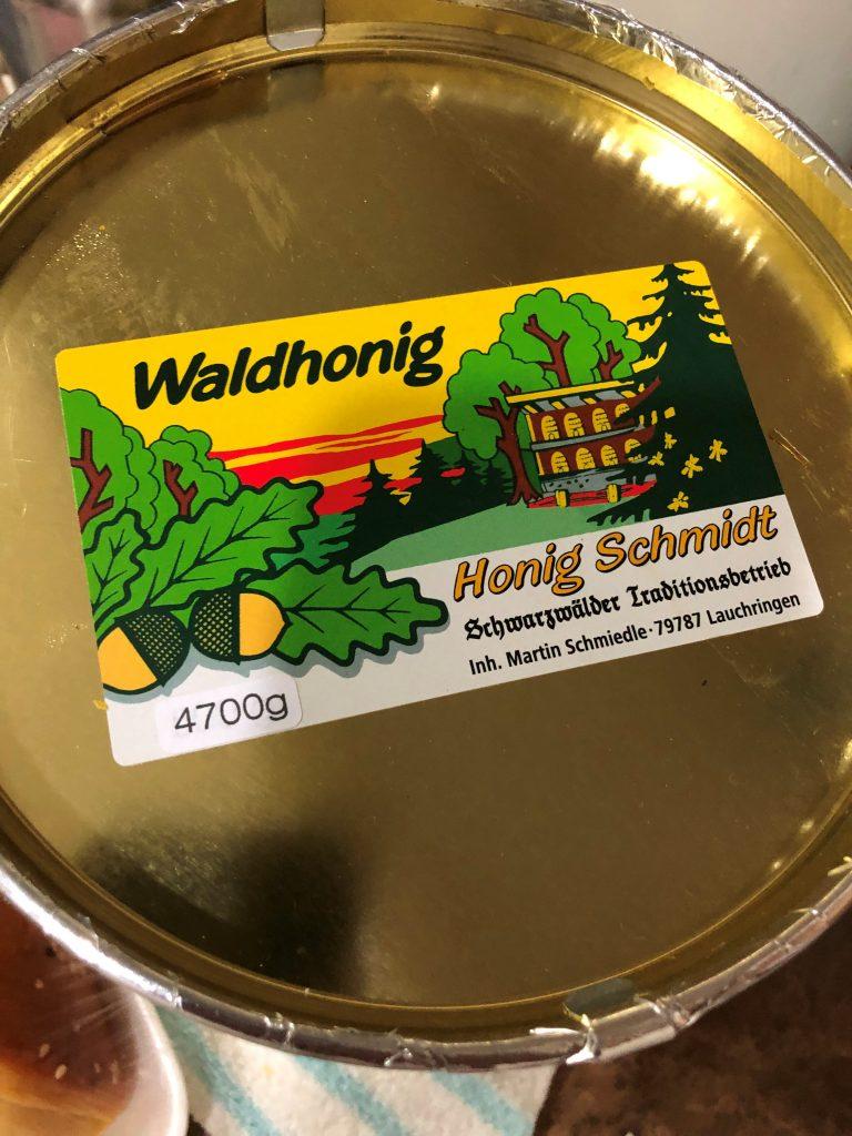 تجربة شراء عسل الغابة من الموقع الالماني honig-schmidt3