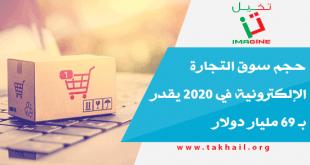 حجم سوق التجارة الإلكترونية في 2020 يقدر بـ 69 مليار دولار